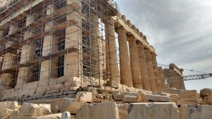 Building Restoration Athens Athena Ancient