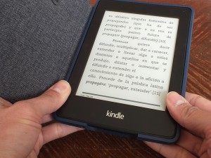 Letters Screen E-ink E-book Reading Kindle